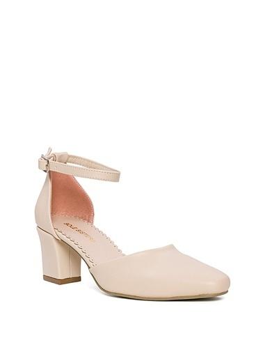 Sole Sisters Topuklu Ayakkabı Ekru - Andhearts2 Bej